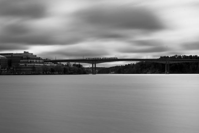 Long Exposure. Architecture Art Beauty In Nature Black And White Blackandwhite Built Structure City Cloud Cloud - Sky Cloudy Day Fine Art Nature Niklasskur No People Outdoors Overcast Popular Photos Scenics Sky The Great Outdoors - 2016 EyeEm Awards The Great Outdoors With Adobe Tranquil Scene Tranquility Weather