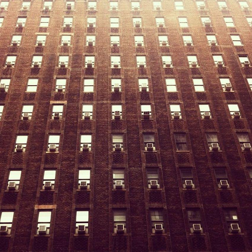 AIR-CONDITIONNERTOWN. Cooler than Stapletown. #climporn Buidlingporn Sadporn Climporn Airconditionnerporn Architecture NYC Manhattan Newyork Linegasm Architectureporn Abstractporn Windowsporn