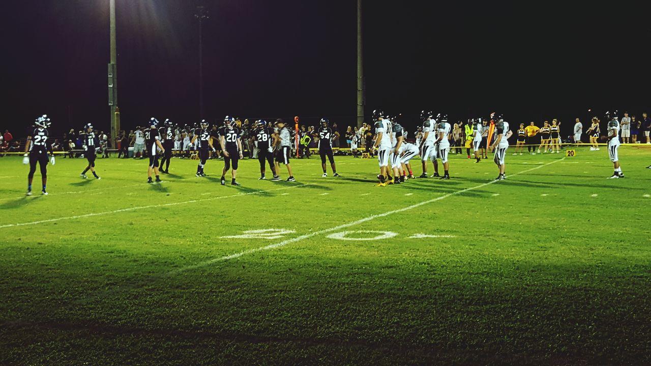 Taking Photos Football Game