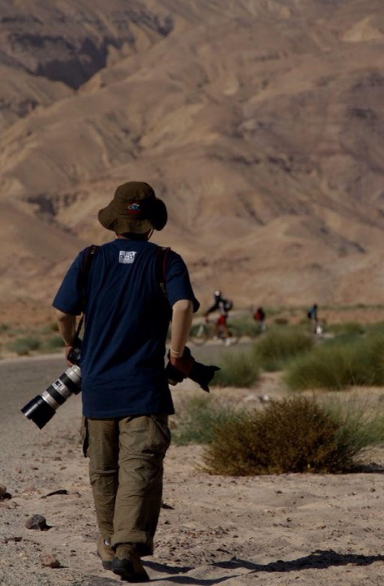 masa lalu Desert Jordan Cycling Photographer