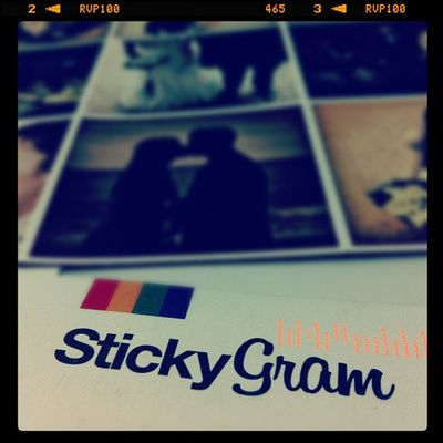 stickygram by Montse Prats