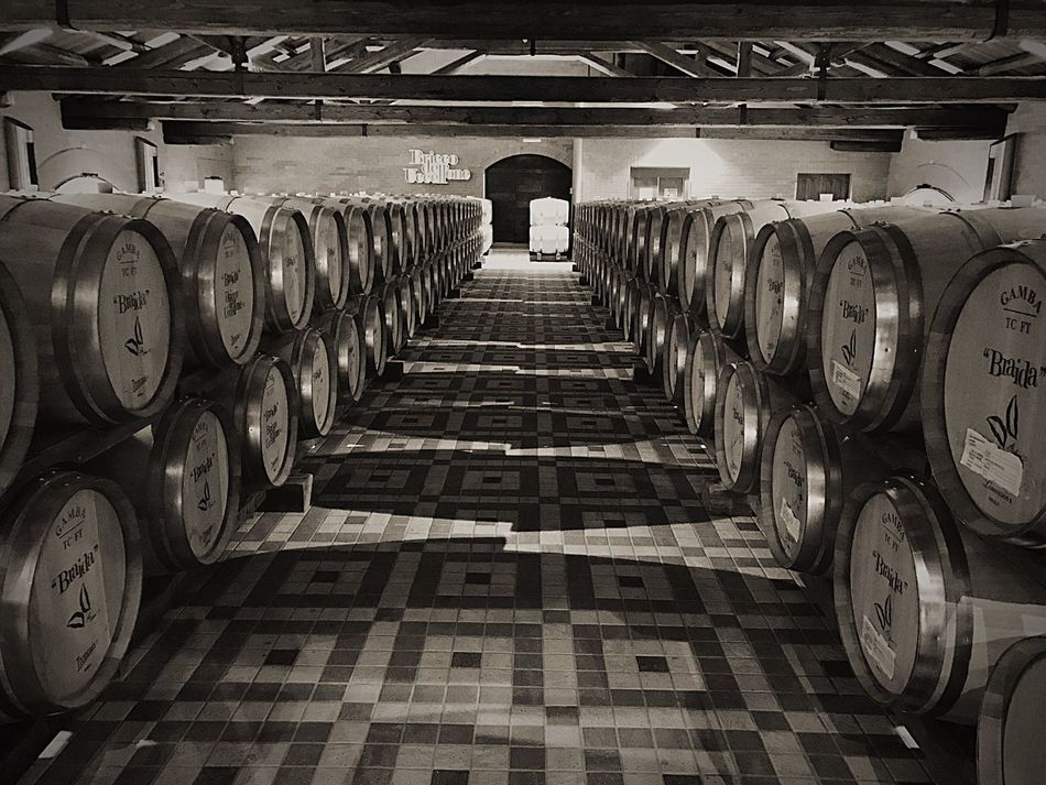 Winemaking Cellar Wine Winery Wine Cellar Distillery Alcohol Distillation Botti Barriques Piemonte Cantina Itay EyeEm Best Shots EyeEm Gallery EyeEm Best Edits EyeEm Black And White Blackandwhite Geometric Shape Geometry Square Wine Cask Autumn Wine Moments