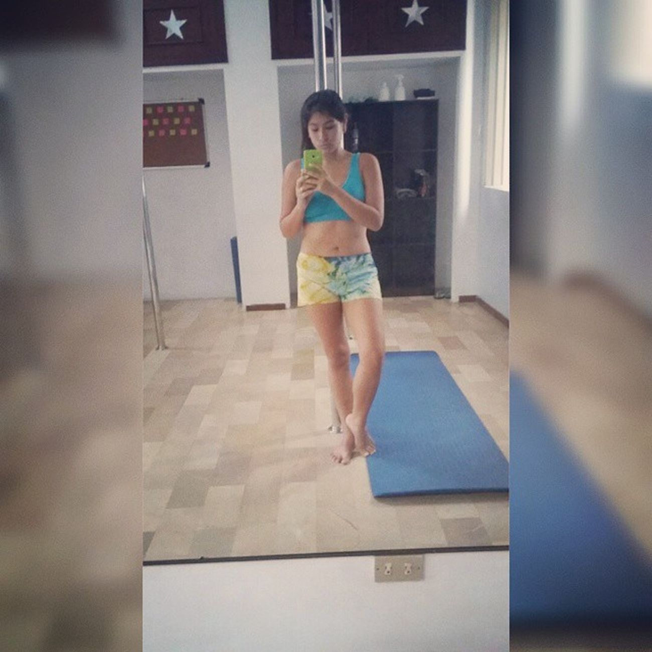 Training Aerialpolefitstudio Mejorando Decalentamiento💪 Depocoapocoseempieza💪✌😰😜😰