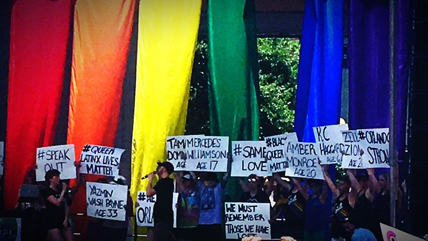 Orlandostrong PrideFest Denver,CO Outandproud