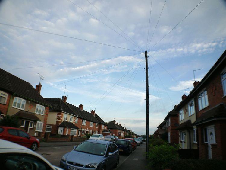 Vanishing Point Rule Of Thirds Urbanphotography My Street Converging Lines Mirrorless Skyporn