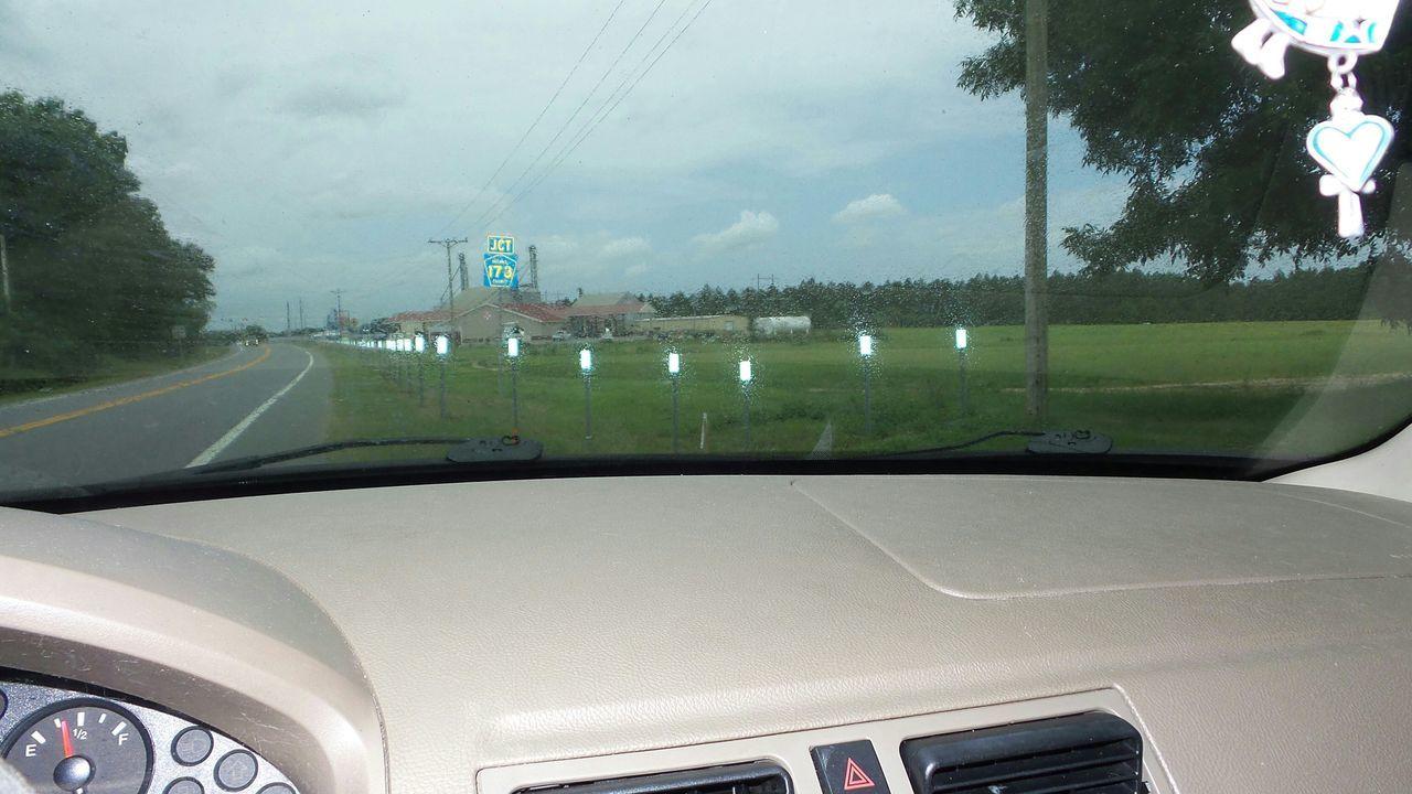 Rain, Car, Alabama, County Road, Windshield