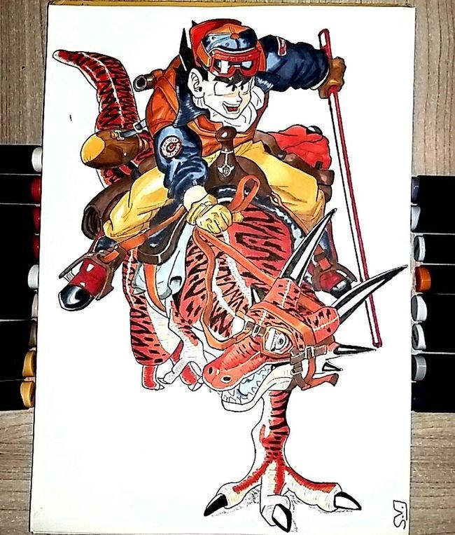 By Sam. Goku DBZ Dragonball Drawing Draw Art Gallery Animeart Drawings Manga Arts Art