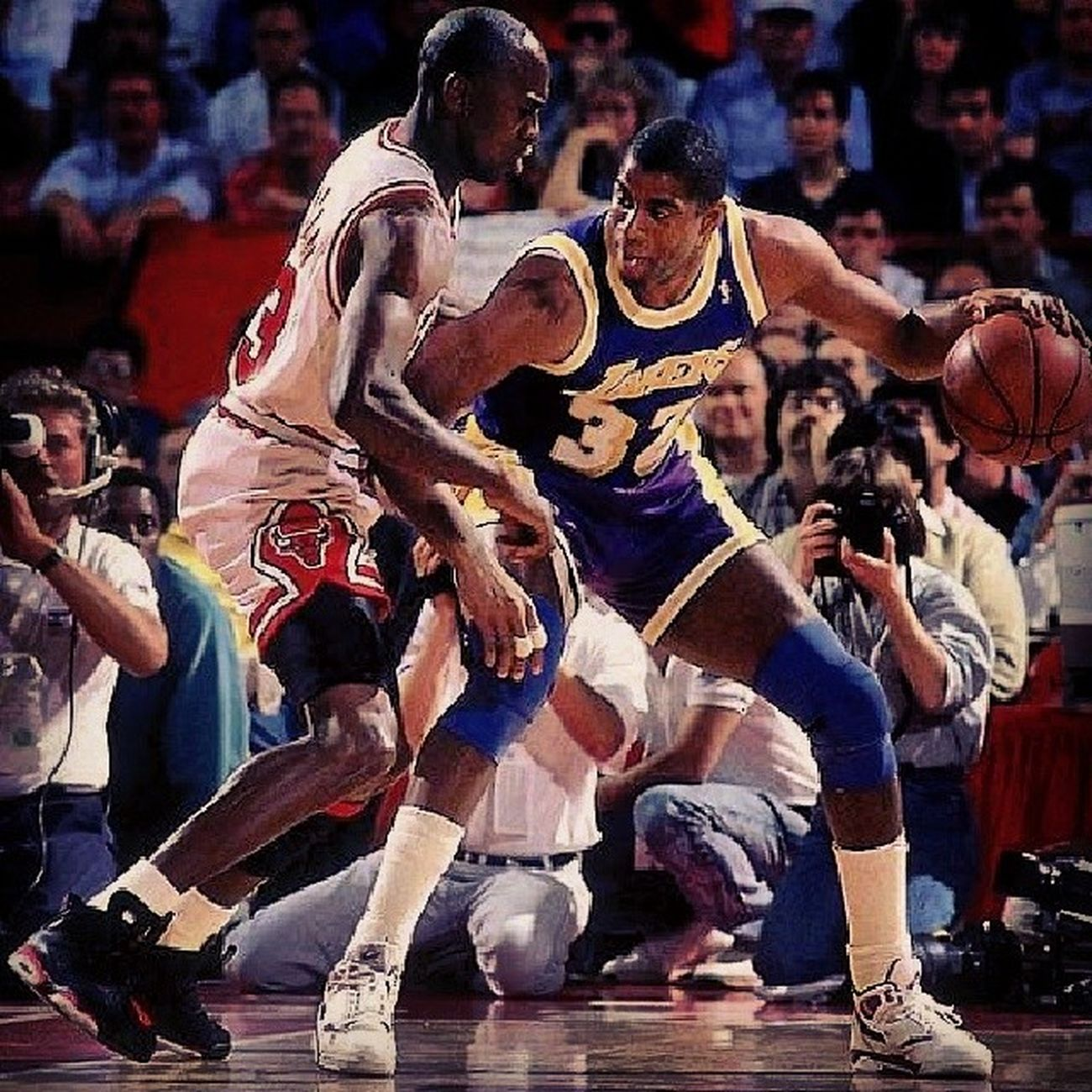 MJ versus MJ LordsOfTheBasketball