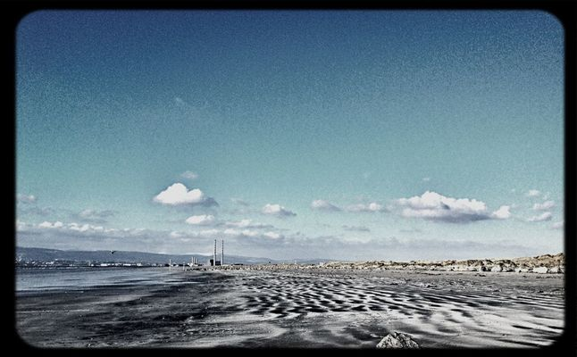 seascape at Dollymount Beach by Ronan McLoughlin