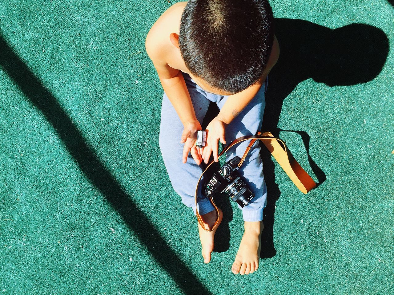 Beautiful stock photos of floor, Boys, Camera - Photographic Equipment, Day, Digital Camera