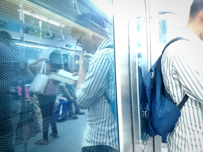 Feed your mind. Bookish Reader My Daily Commute At The Train Books Feed Your Mind Eyeem Philippines EyeEm Manila Lrt2 On The Way Color Palette People And Places