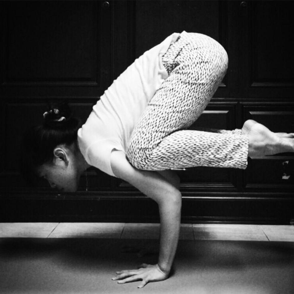 C R O W P O S E Yoga Yogawithbigvoice Enjoying Life Balancing Act Armbalance That's Me