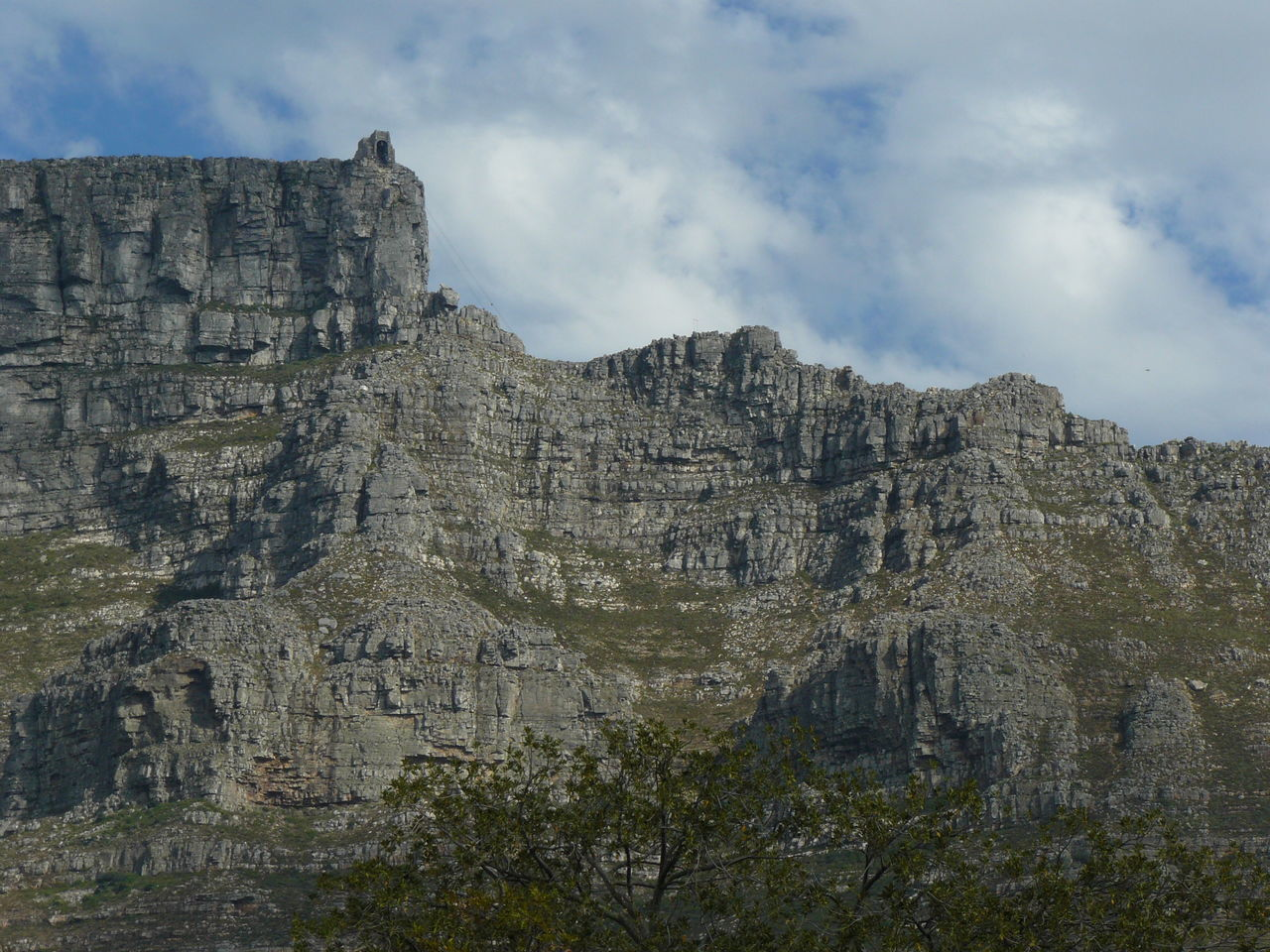 Ancient Beauty In Nature Cloud - Sky Day Geology Landscape Low Angle View Mountain Nature No People Outdoors Quarry Scenics Sky Tree Table Mountain