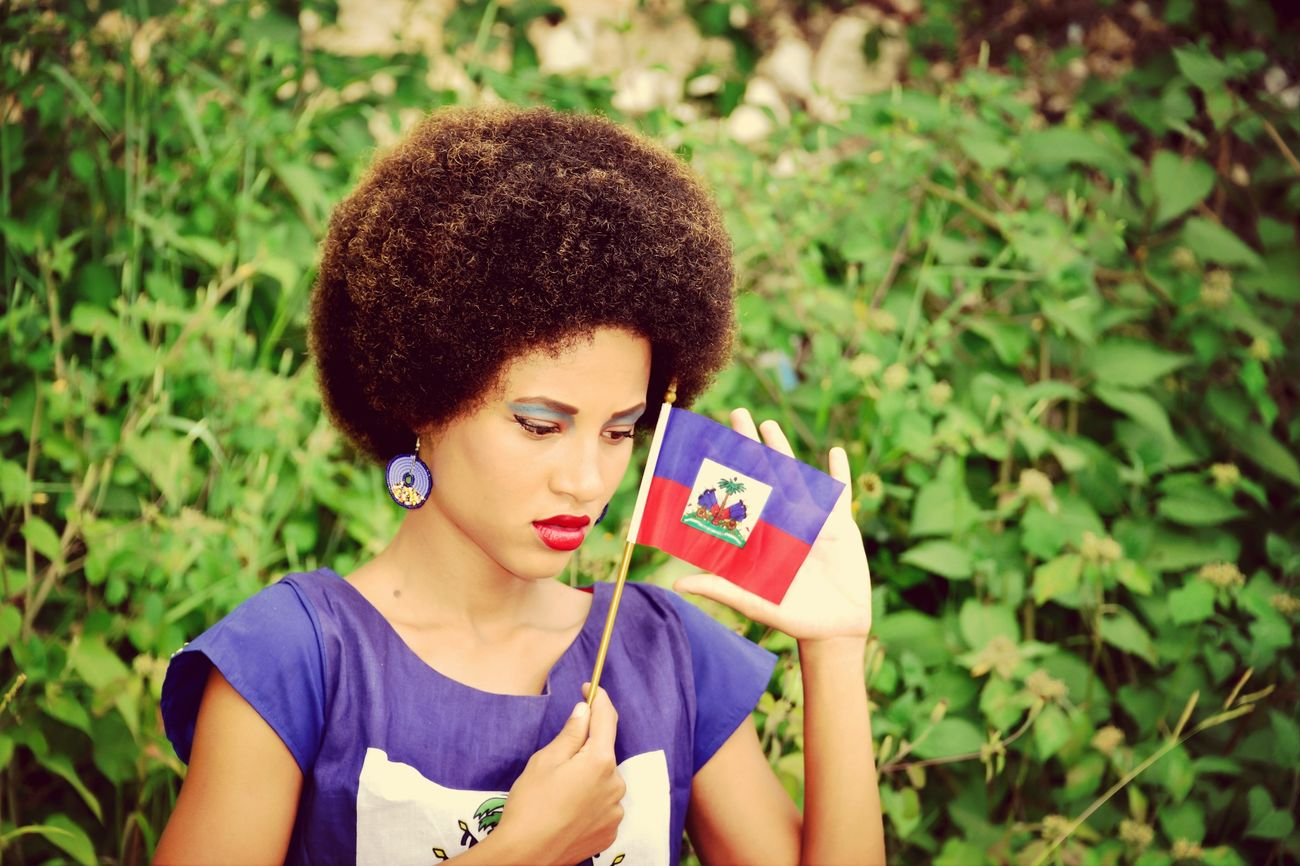 Haitianflag  Proud Mycountry Haitian Fatiful
