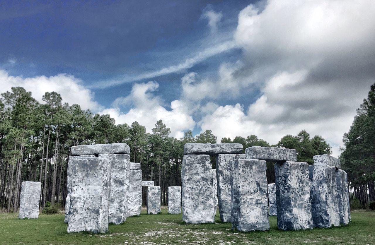Bamahenge Alabama VividHDR Iphone 6 Stonehenge
