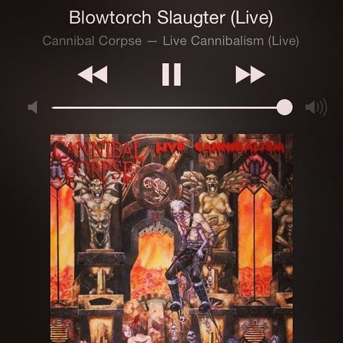 Today's mood and mission...kick ass! Serverlife Metal CannibalCorpse Letsrockthisclose
