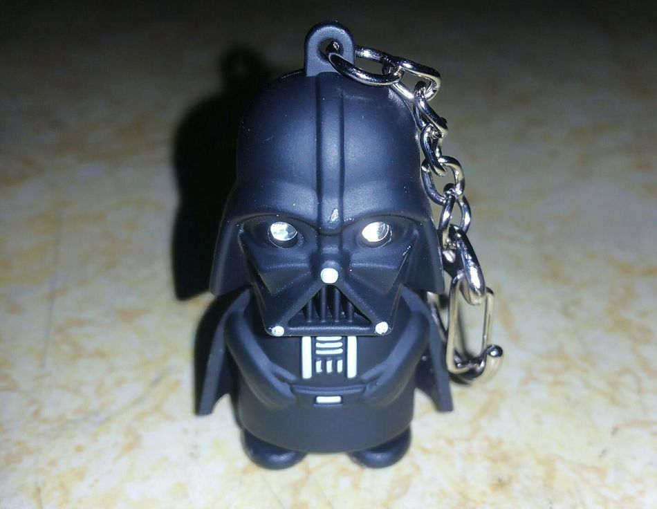 Lil Vader says.. Come to the dark side, we have cookies!! Darth Vader Star Wars Cute Keychain Special Gift Dark Side 4 Life!!