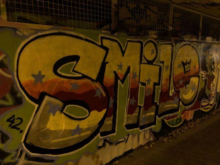 Smile Marvin The Martian  Smile Graffiti Graffiti No People Legal Wall Marvin Martian