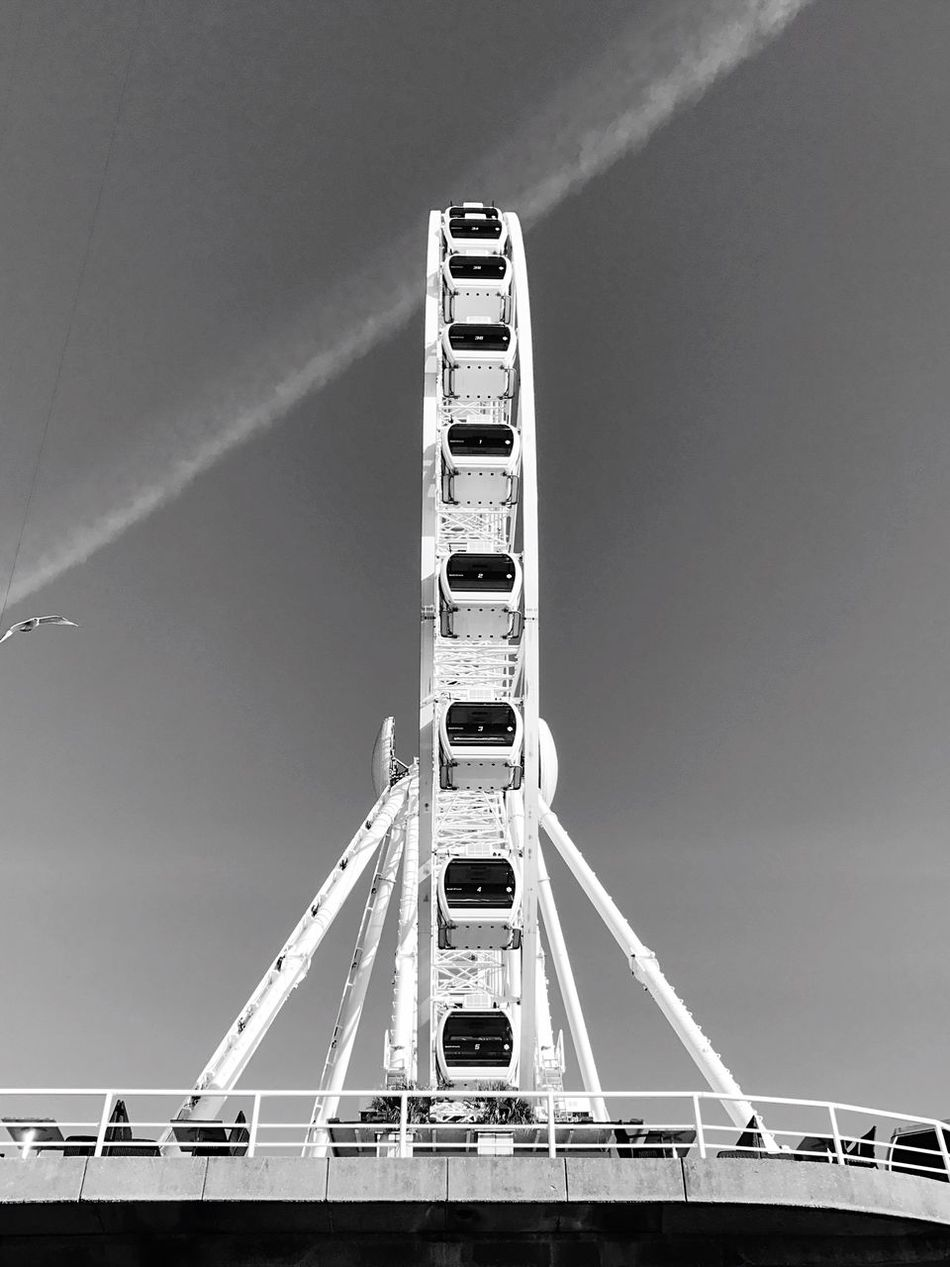 Scheveningen Pier Beach Sunny Blackandwhite Photography IPhoneography