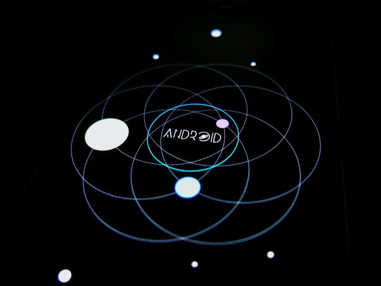 circle, communication, no people, technology, illuminated, close-up, indoors, night, black background, planet earth, astronomy