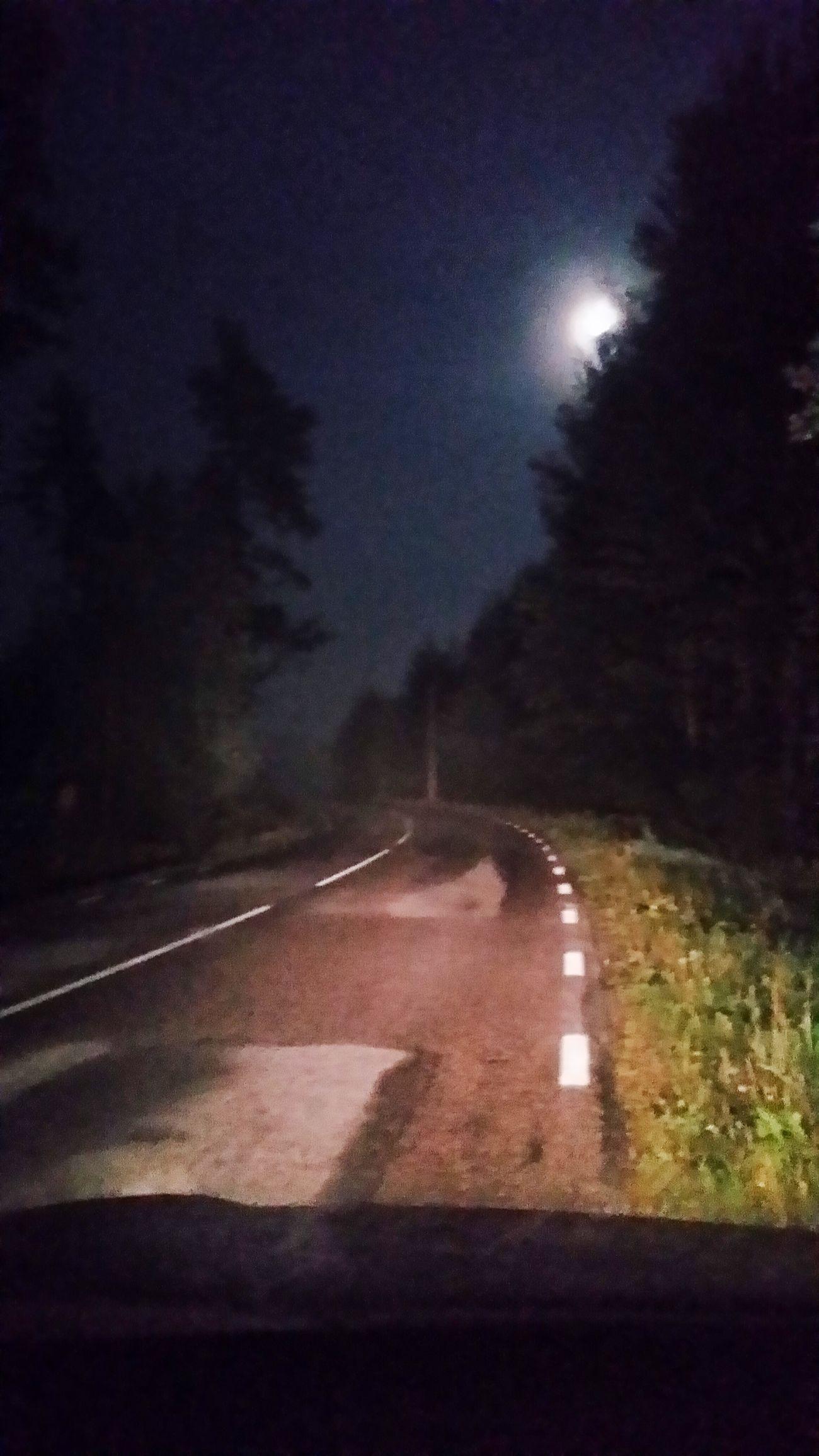 Nightdriving Eyem Gallery Moon