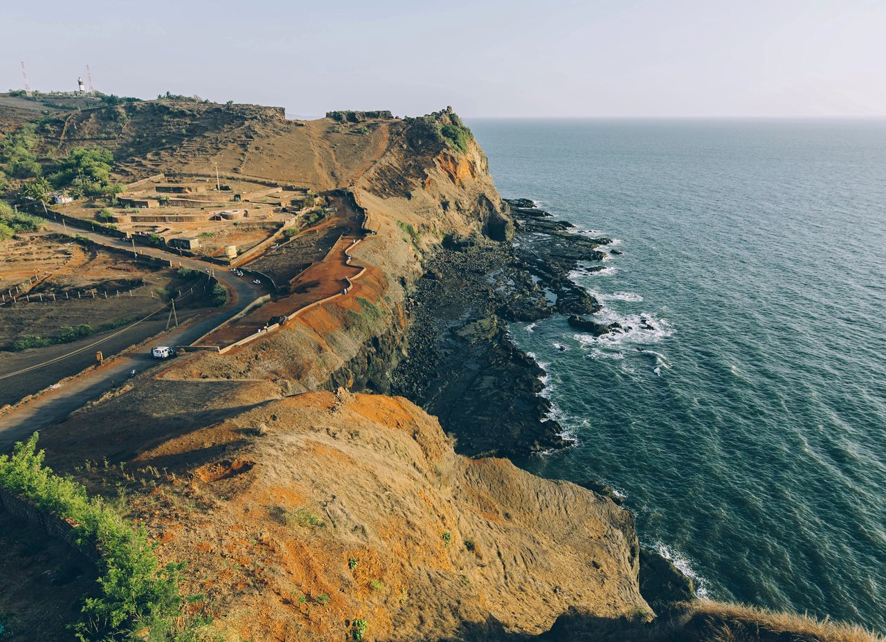 A Bird's Eye View India Nature Nature Photography Ocean View Nature_collection Naturelovers Ocean Sea Coast Drone
