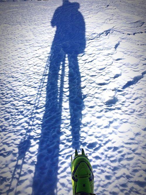 Snow Trekking Mountains