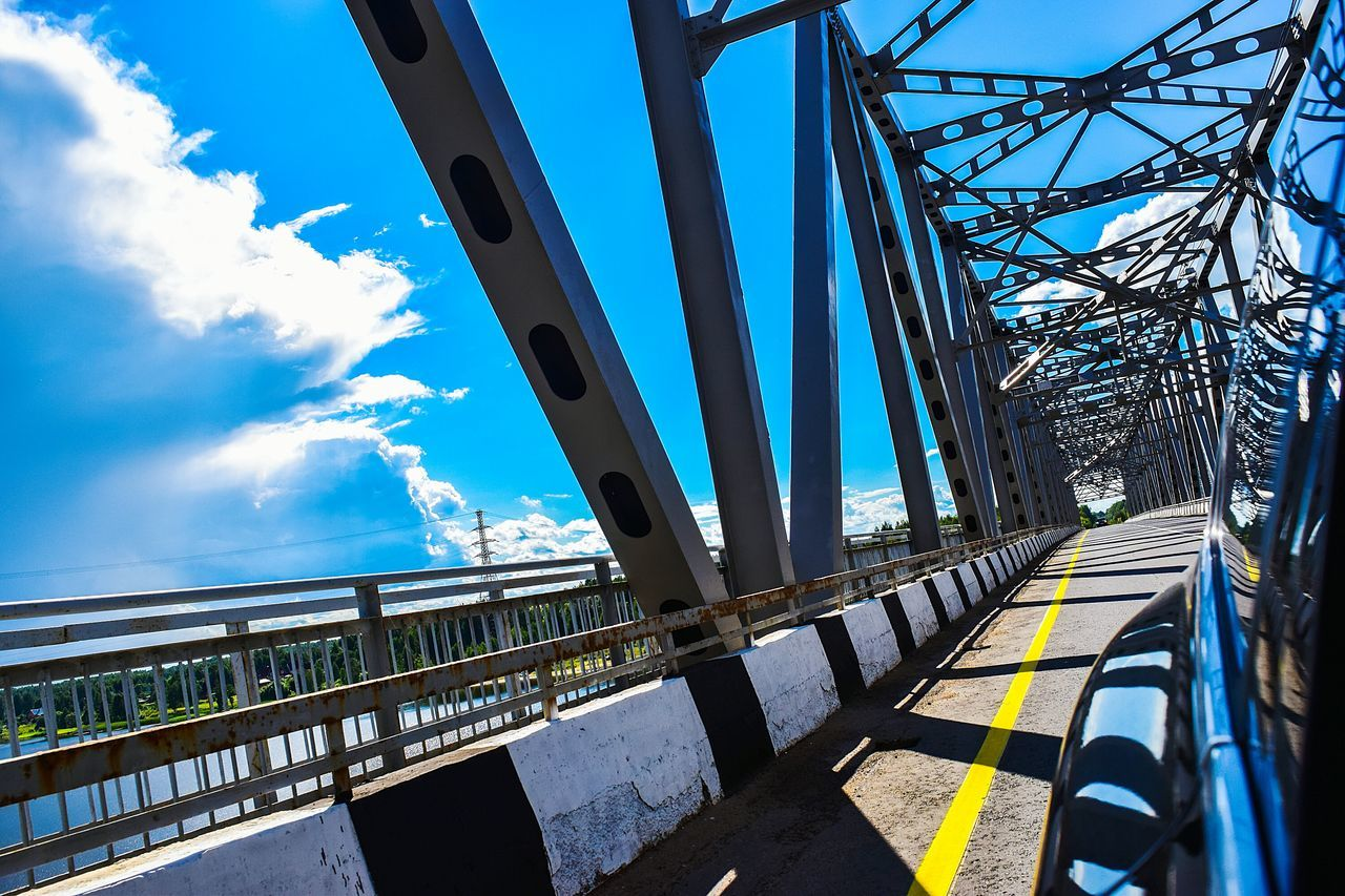 The Journey Is The Destination Travel Traveling Travel Photography Summer Russia Car Bridge Taking Photos Taking Pictures EyeEm Eye4photography  Colorful Sky