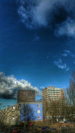 Groningen Buildings Vinkhuizen 't Vinkhuys Sky And Clouds Myfuckinggroningen