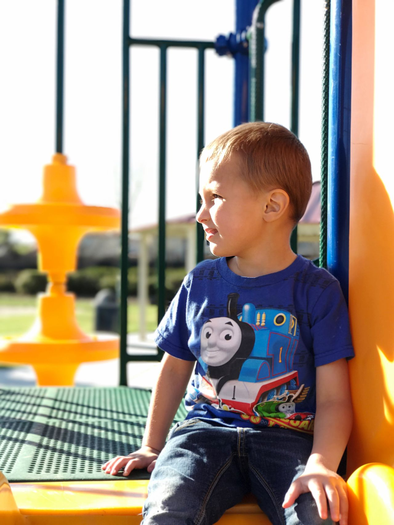 Luke Childhood Playground Innocence One Person