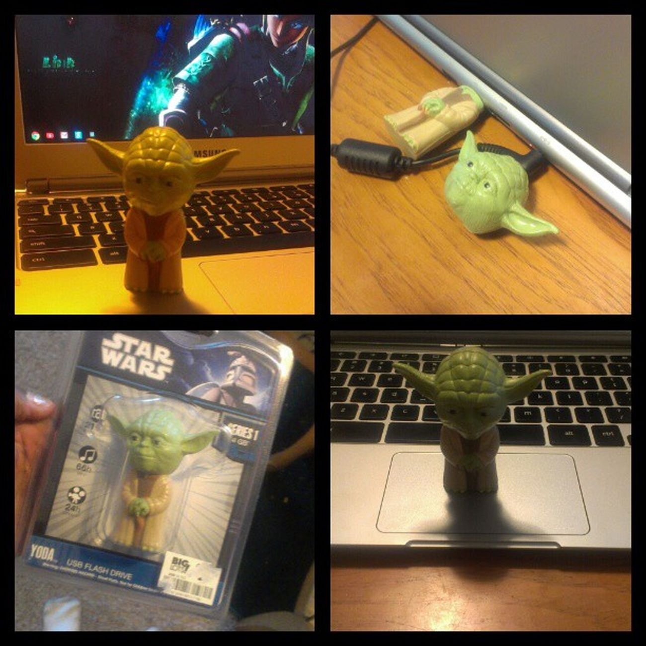 I just bought a new #yoda #USB #flashdrive for my #chromebook. I'm incrediby giddy about it right now. Starwars New Mine USB Yoda Tech Jedi MayTheForceBeWithyou Flashdrive  Chromebook Theforce Theforceisstrongwiththisone Samsungchromebook Googlechromebook