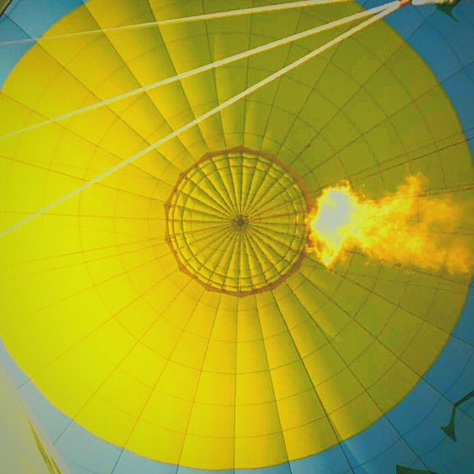Ballooning Fire Sky Fly To The Sky Yellow FlyinHigh Showcase April Yellow Collection Yellow Color Flying Away Balloon Yellow Balloon Fire ! Colors Of Spring
