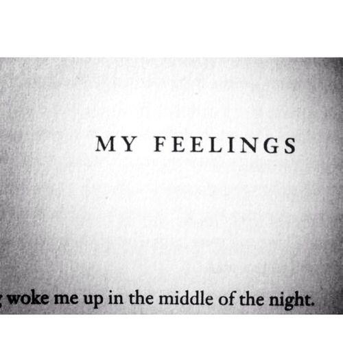 fuck you feelings. Never Ending Nights