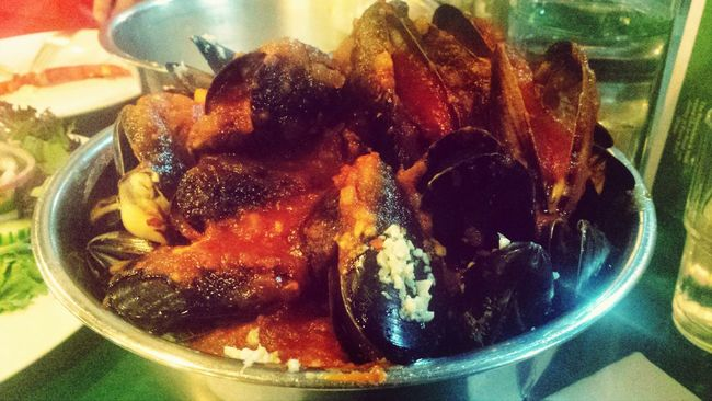 Chilly Mussels