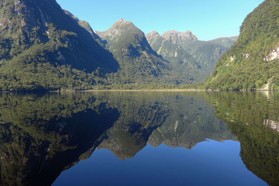 Doubtful Sound Landscape Nature New Zealand No People Reflection Sound Of Silence Water