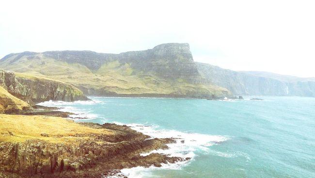 Wanna Jump Nature Sea Waves Landscape Beautiful Beautiful Nature Rainy Days