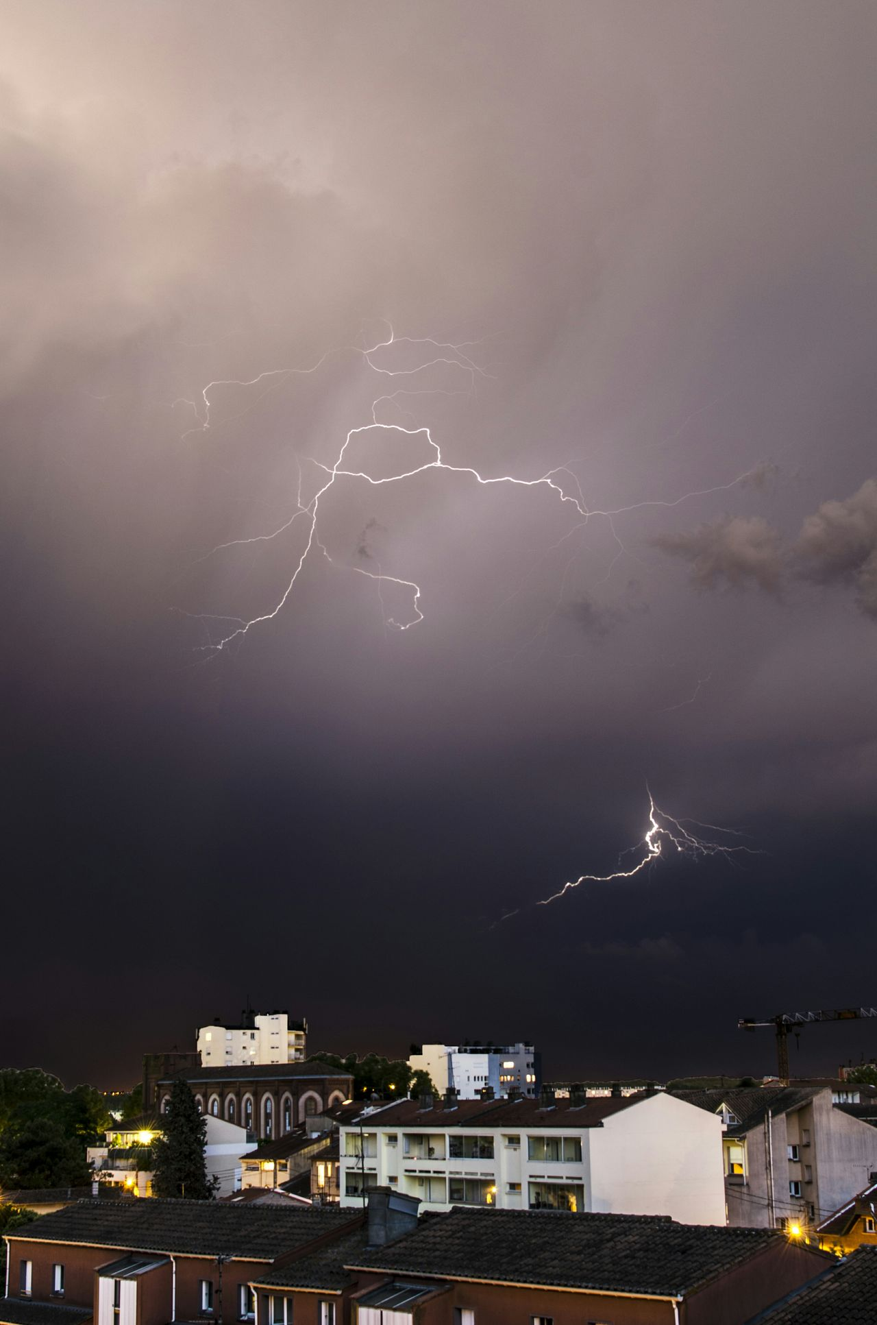 Beautiful stock photos of lightning, Architecture, Atmospheric Mood, Built Structure, Day