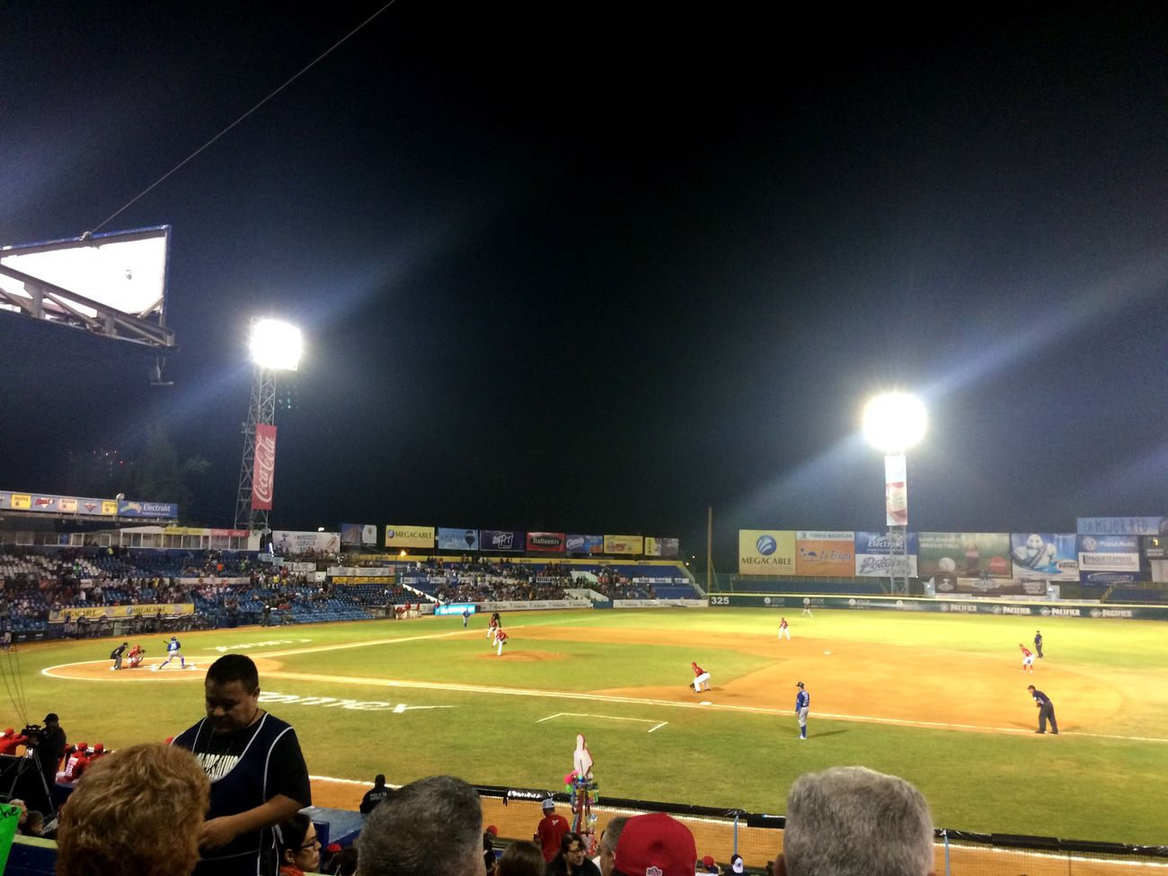 Venados De Mazatlan Baseball Game Sport Stadium Large Group Of People Soccer Night Spectator Leisure Activity Playing Soccer Player Lifestyles Playing Field Floodlight Soccer Field Real People Team Sport Grass Green Color Men Sportsman Illuminated