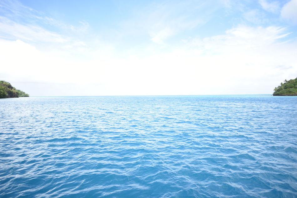 Beautiful stock photos of bora bora, Water, beauty In Nature, blue, calm