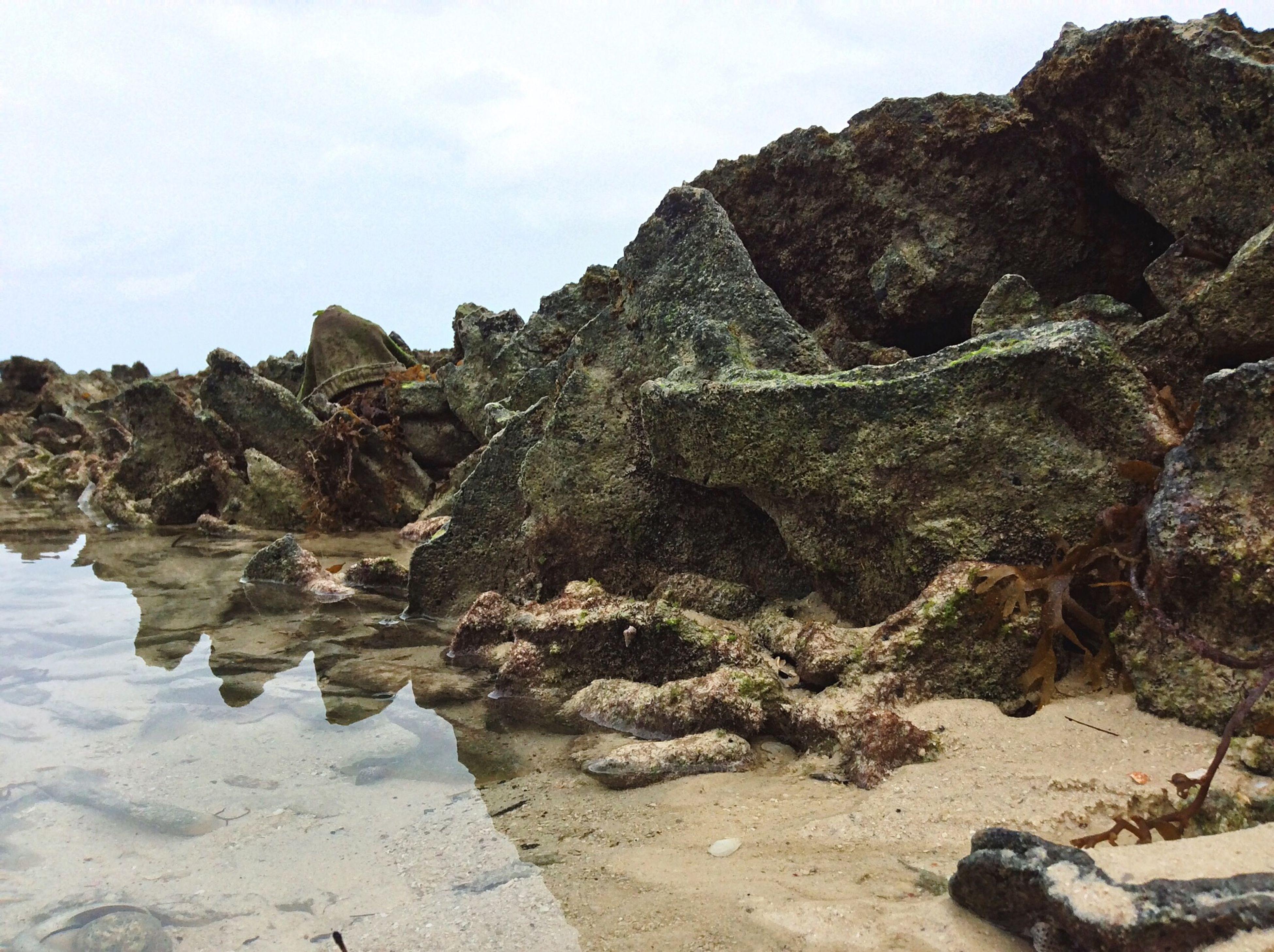 Bite size Krypton. Beach Rocks Water Reflection Traveling First Eyeem Photo