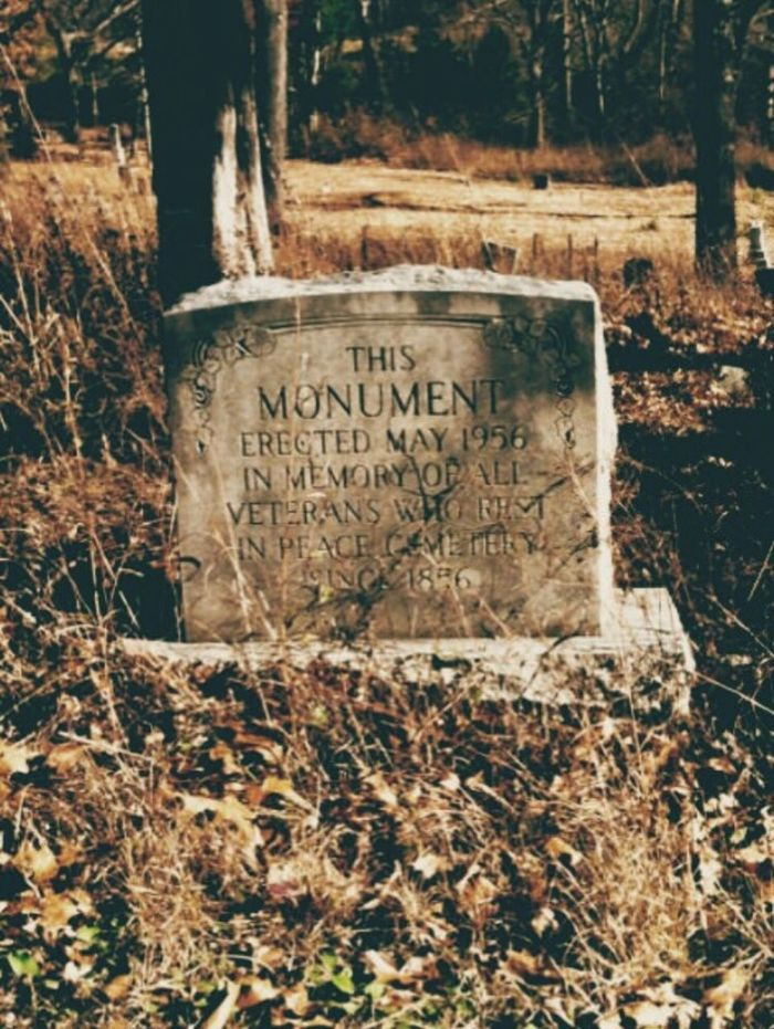 """This Monument.."" Cemetery Historic History Head Stone Two Hundred Years Ago The Past Cement Stone Western Script Close-up Field Nature Outdoors Rustic Country Ancestors Herritage Day 1800's Cemetery Missouri Calm Quiet Landscape Haunting  Surreal"