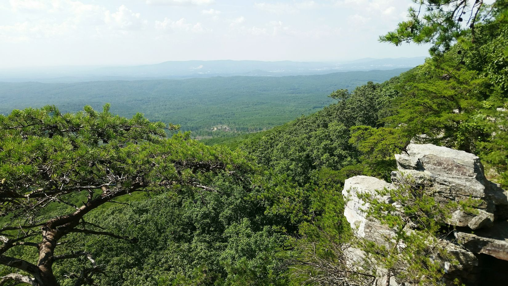 Pulpit Rock, Cheaha State Park Talladega National Forest Alabama