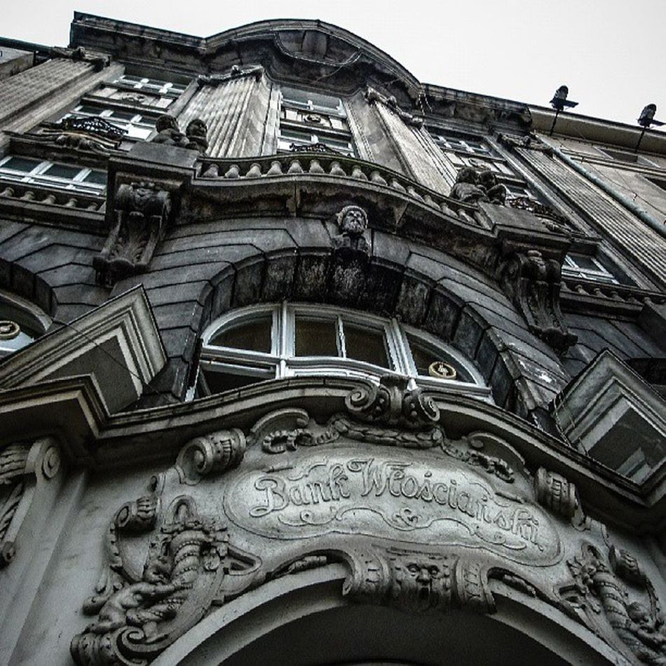 Architecture Detail The Architect - 2014 EyeEm Awards Relief sculpture neobaroque old bank poznan Poznań