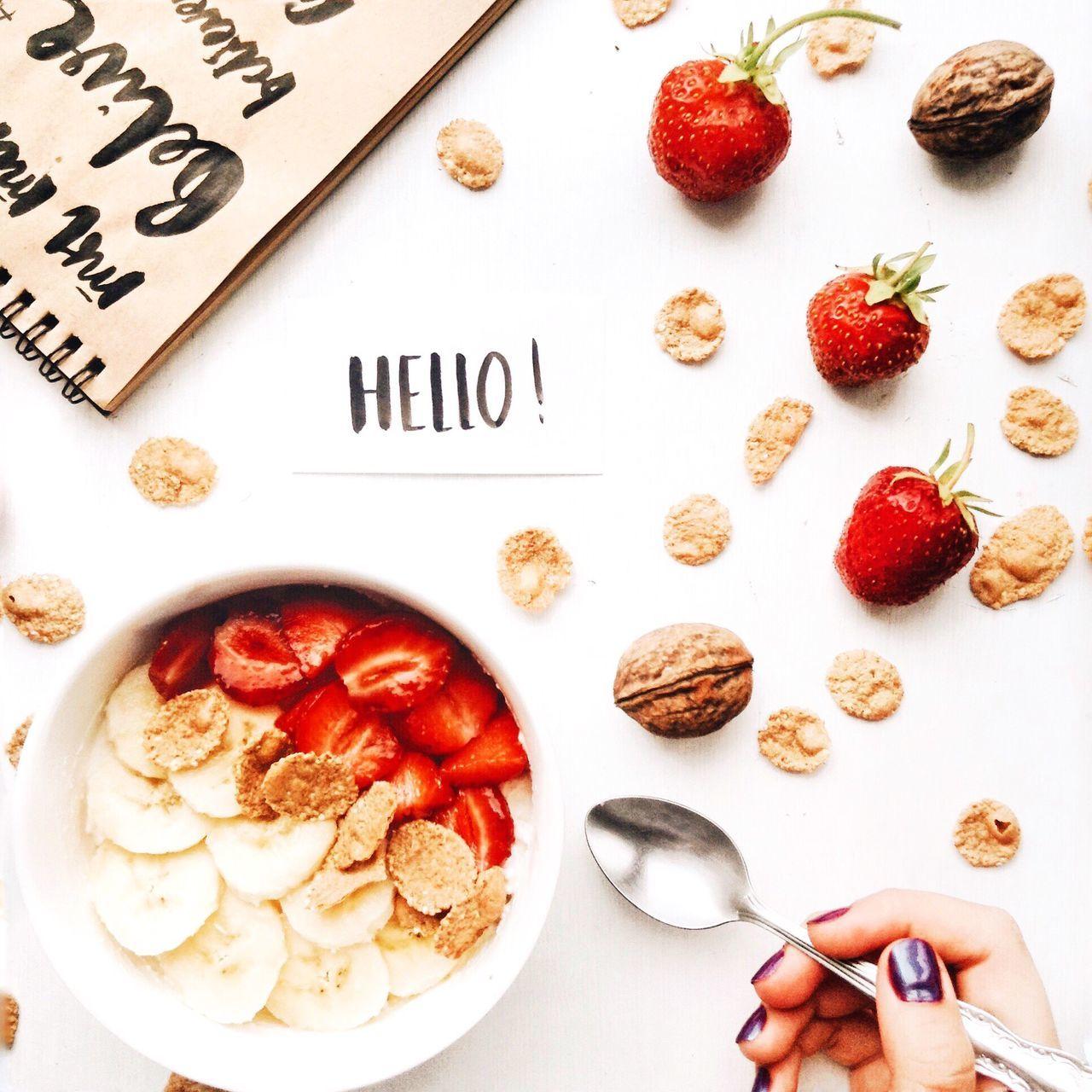 Flatlay Flatlay Onmytable Ontable Hand Breakfast