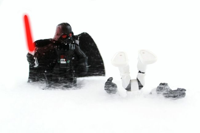 Vader could help him out, but he found his lack of faith disturbing. EyeEm Bokeh Winter Tadaa Community EyeEm Best Shots Toy Photography It's Cold Outside