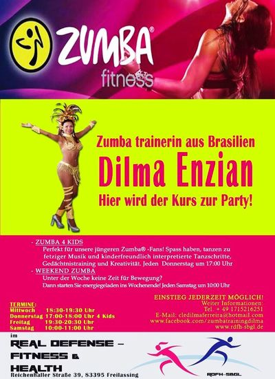 Zumba Kurs Freilassing