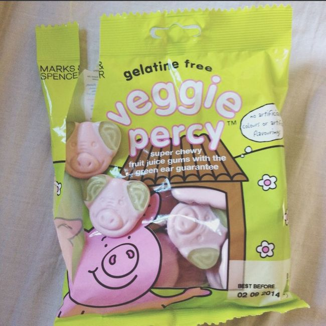 Mmmm Veggie Percypigs Sweets Candy