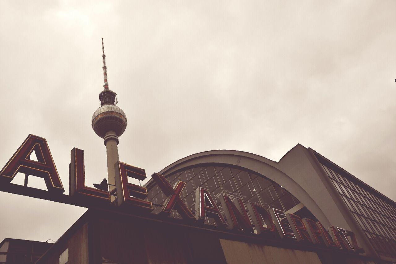 Tower City Architecture Sky No People Alexanderplatz TV Tower Berlin