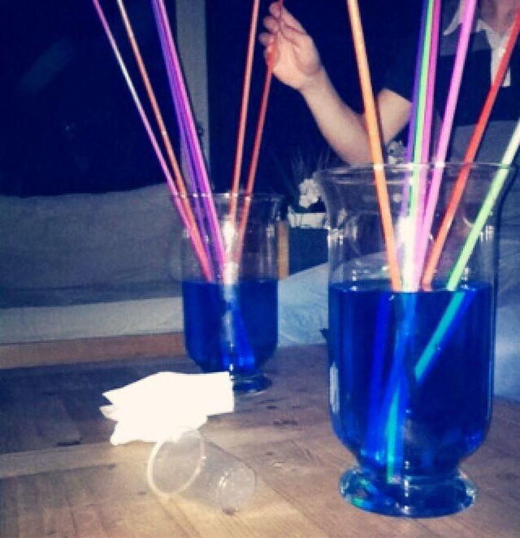 Nous on n'y va plus au verre, on y va au vase