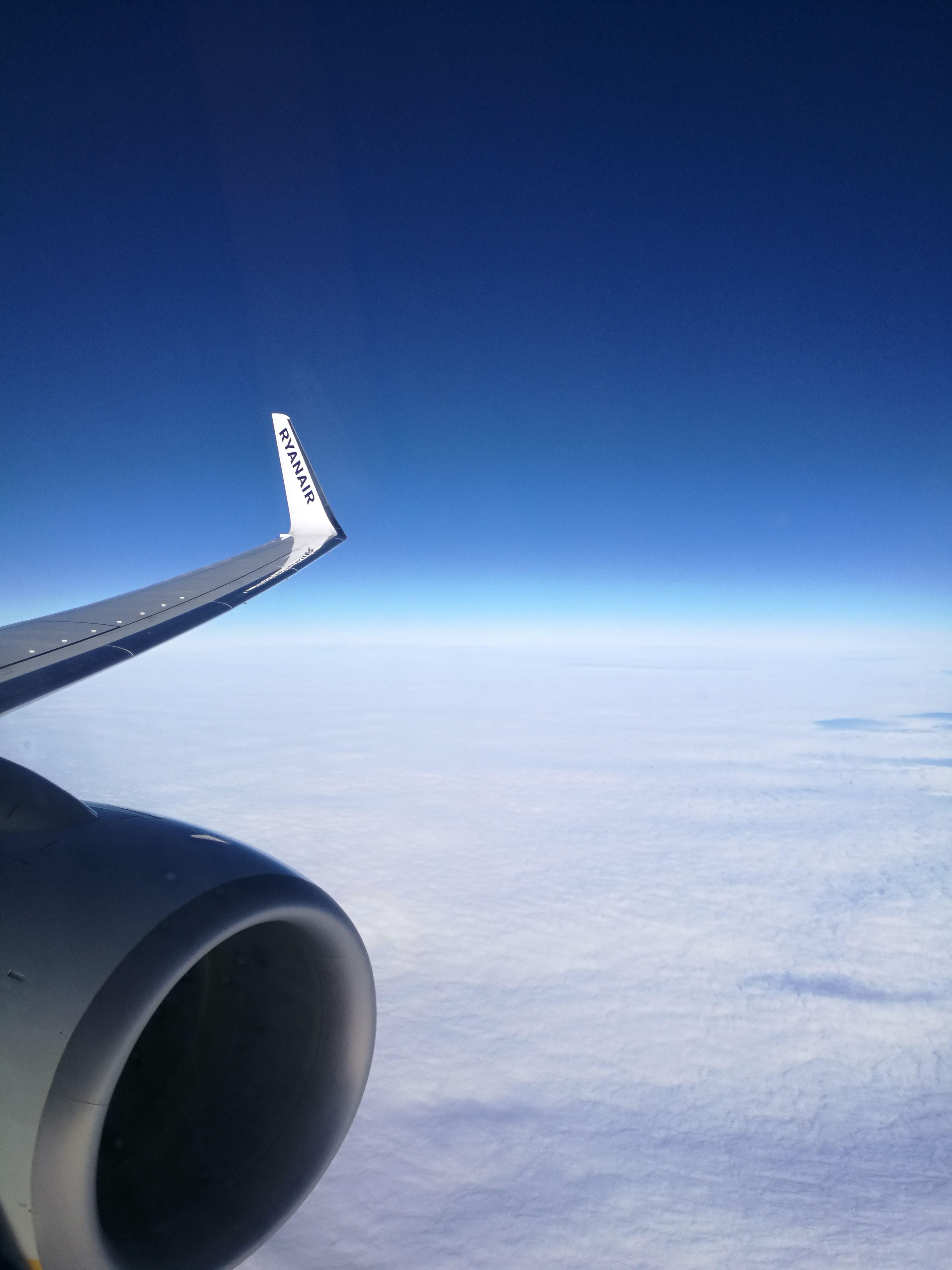 Turbolence Nowhere Flight FR6309 Finding New Frontiers